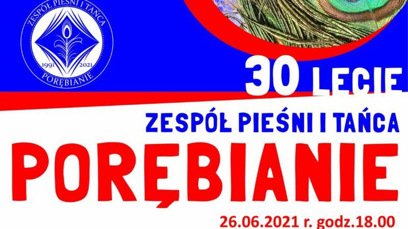 """Koncert inaugurujący 30-lecie ZPiT """"Porębianie"""""""