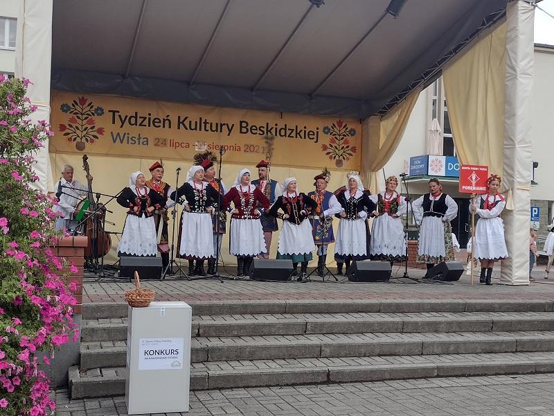 """""""Porębianie"""" wystąpili w ramach Tygodnia Kultury Beskidzkiej"""