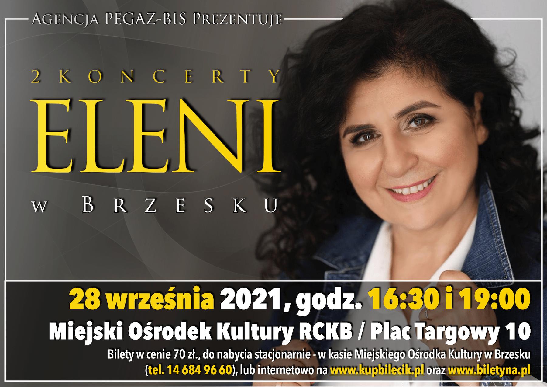 Podwójny koncert Eleni – 28 września 2021r.