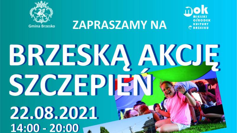 Brzeska Akcja Szczepień – 22 sierpnia 2021